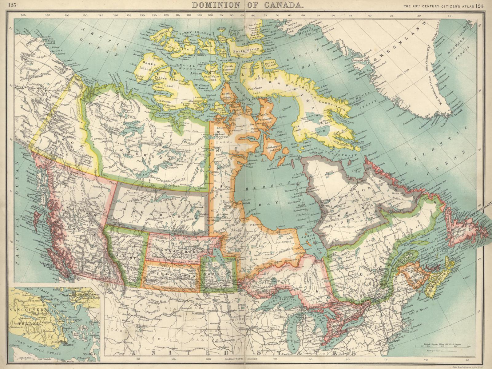 Desktop Background Images Canada Ca - Old map of canada