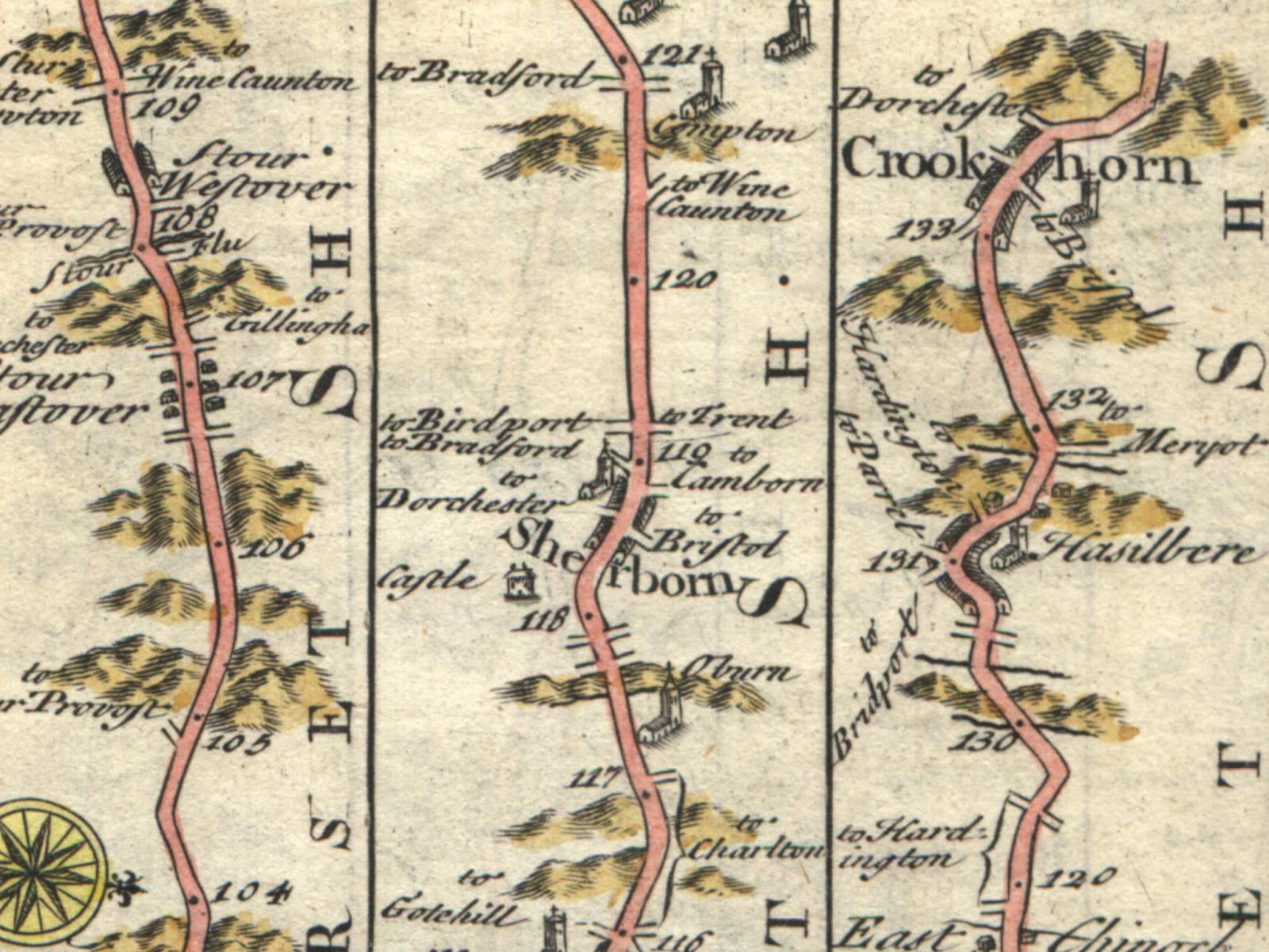 Desktop Background Images Antique Road Maps - Antique road maps